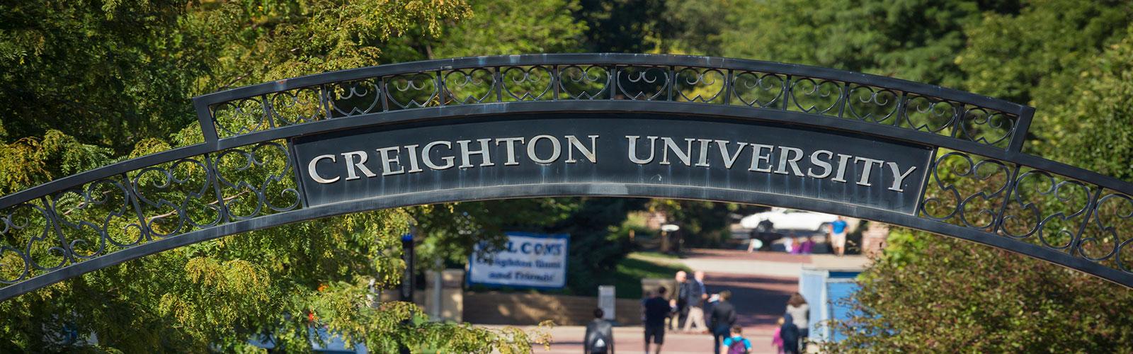 Creighton University Arch